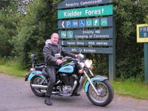 Ian Wanstall Motor Bike
